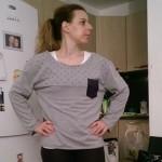 Re-fashion sweatshirt